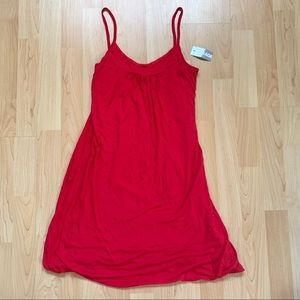 New Red Garage Bubble Dress